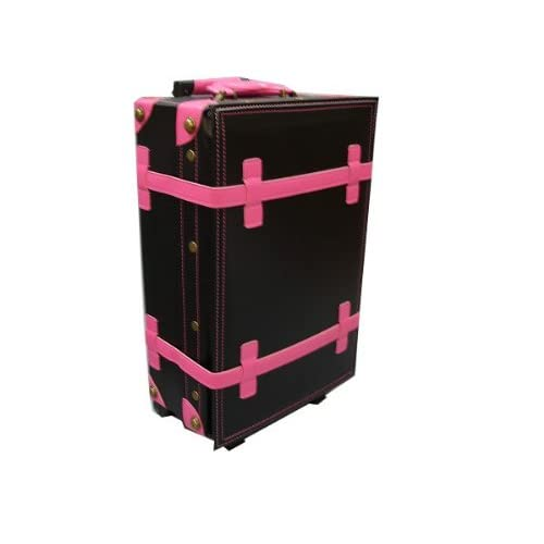 ハナイズム トランクキャリーバッグ - HANA ism -S09 コスモブラック×ホットピンク/キャリーケース・スーツケース