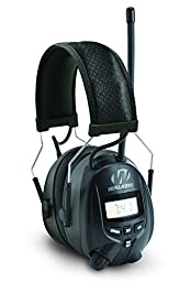 Walkers Game Ear AM/FM Radio Muff with Digital Display, Black