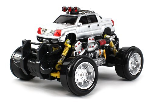 Cadillac Escalade EXT Electric RC Drift Truck 1:18 Scale 4 Wheel Drive Ready To Run RTR, Working Spr