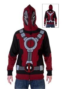 Deadpool - Mr. Pool Costume Zip Hoodie, Small