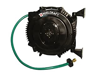 Reelcraft SWA3850 OLP 1/2-Inch by 50-Feet Spring Driven PVC Hose Reel for Water