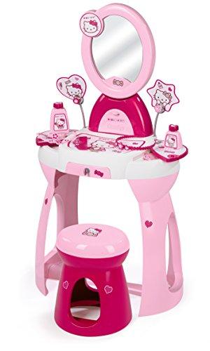Smoby - 024119 - Bijou Et Cosmétique - Coiffeuse - Hello Kitty