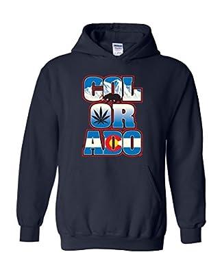 Artix Colorado Weed Pattern Unisex Hoodie Sweatshirt