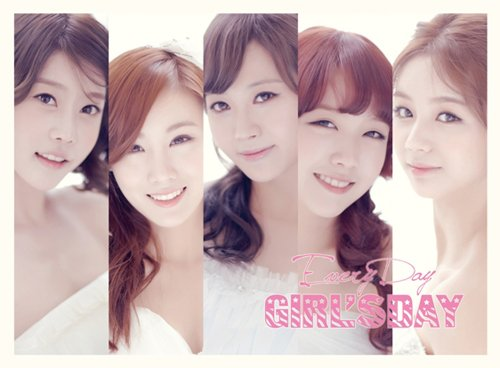 1st Mini Album - Everyday(韓国盤)