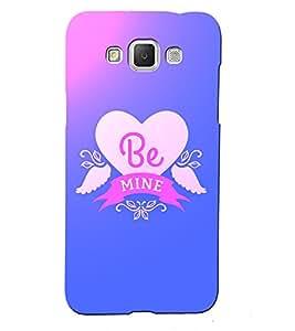 Fuson 3D Printed Love Designer back case cover for Samsung Galaxy Grand 3 - D4530