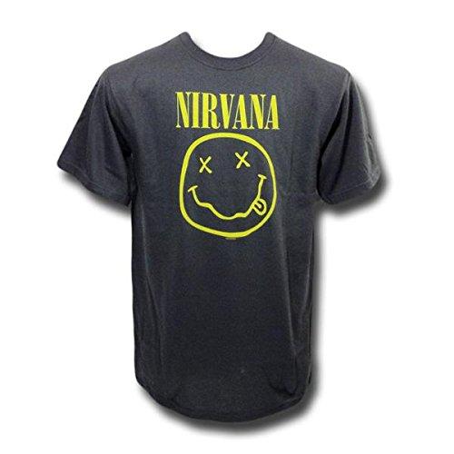 Nirvana バンドTシャツ ニルヴァーナ Smile on Gray S