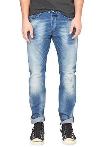 s.Oliver Denim Herren Slim Jeans 40.502.71.3631, Gr. 38/L34 (Herstellergröße: 38), Blau (denim 55Z4)