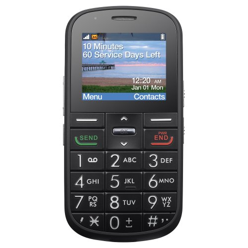 """Alcatel 382G """"The Big Easy"""" Prepaid Phone With Double Minutes (Tracfone)"""