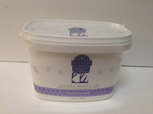Layers by Scentsy Washer Whiffs (French Lavender, 48 oz Tub) (Layers Washer Whiffs compare prices)