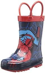 Western Chief Spider Rain Boot (Toddler/Little Kid/Big Kid),Red,7 M US Toddler