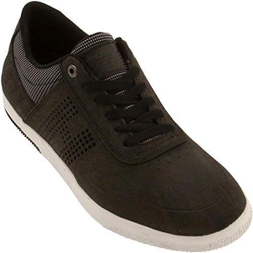 HUF Men's Hufnagel 2 Skateboarding Shoe, Black/Ballistic, 8.5 M US