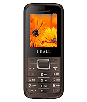 I Kall K88 set of 2 Dual Sim Mobiles (Brown & Brown)