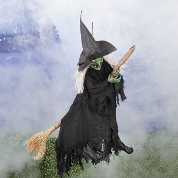 Halloween Witch Decorations FLYING WITCH halloween