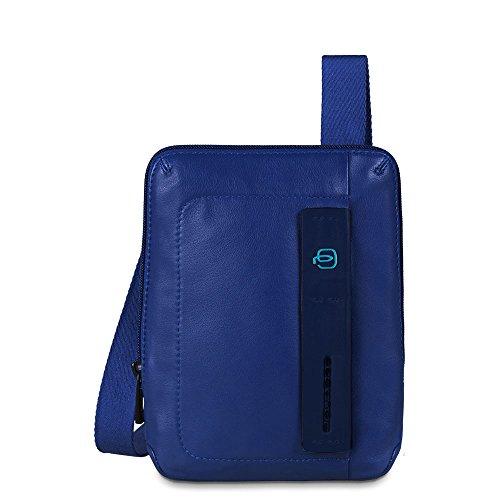 Piquadro CA3084P15/BLU Borsello, Linea Pulse, Blu, 22 cm