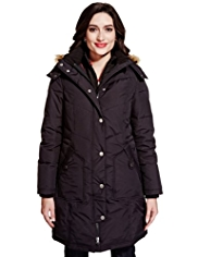 Per Una Feather & Down Hooded 3-in-1 Coat with Stormwear™