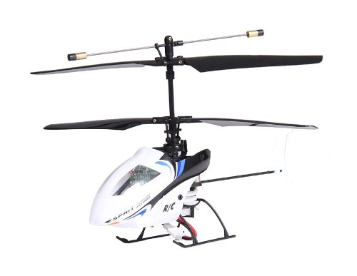 FeiHu 4C Aluminum Alloy RC Helicopter with Built-in Gyroscope, USB Interface, and IR Controller