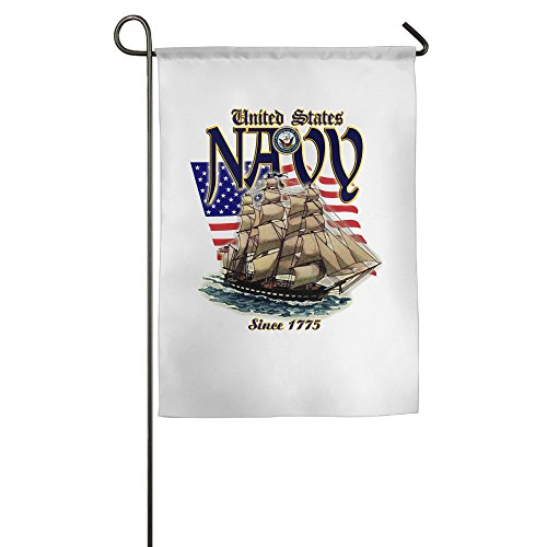 US Navy Birthday House Flags Fall Outdoor Flags