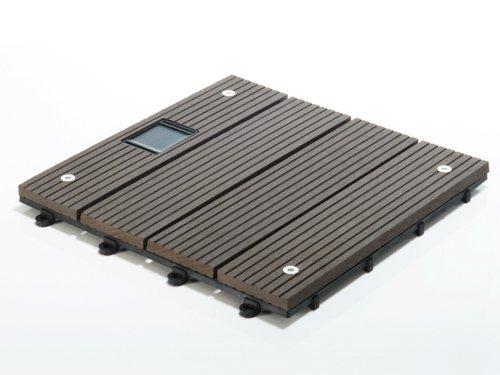 terrassenfliesen set timber led dunkelgrau menge. Black Bedroom Furniture Sets. Home Design Ideas