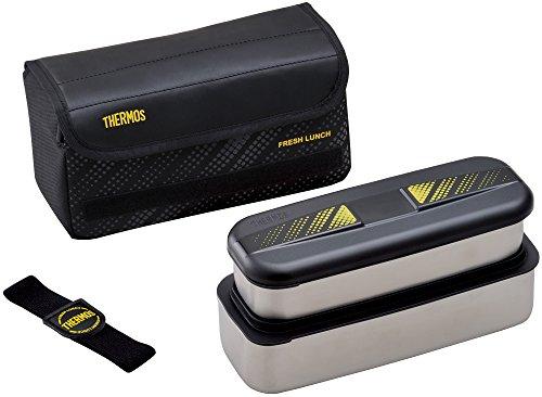 サーモス フレッシュランチボックス 1100ml ブラック DSD-1101WBK