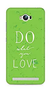 AMEZ do what you love Back Cover For Asus Zenfone Max ZC550KL