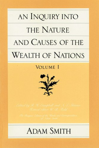a literary analysis of an inquiry into nature and causes of the wealth of nations The wealth of nations by adam smith an inquiry into the nature and causes of the wealth of nations is the magnum opus of the scottish economist and literary fiction.