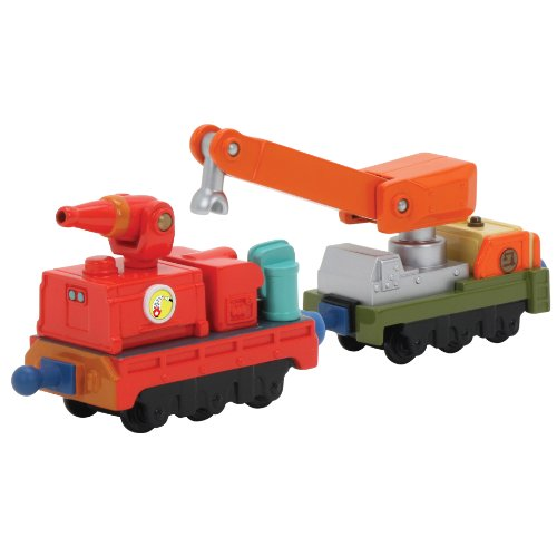 Chuggington StackTrack Calley's Fire And Rescue Cars - 1
