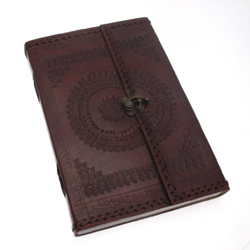 indra-hefty-stitched-and-embossed-leather-journal-with-clasp-180-x-265-mm