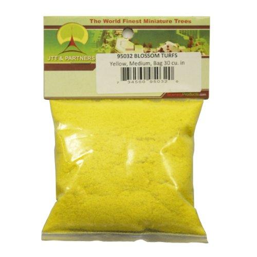 JTT Scenery Products Blossom Flowering Turf, Yellow, Medium - 1