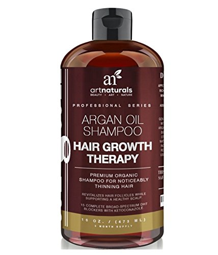 Art Naturals Organic Argan Oil HAIR LOSS SHAMPOO for Regrowth 16 Oz **MRDC**
