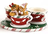 Yankee Candle Gingerbread Teacup Mulitple Tealight Holder (New for 2013)
