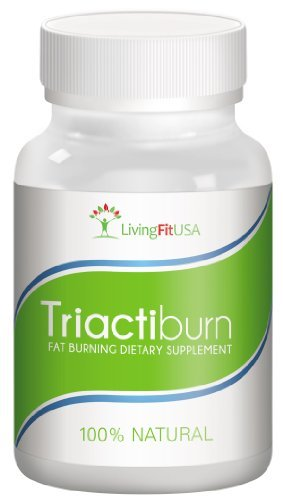 TRIACTIBURN Fat Burner Thermogenic Metabolism and Energy Booster Diet