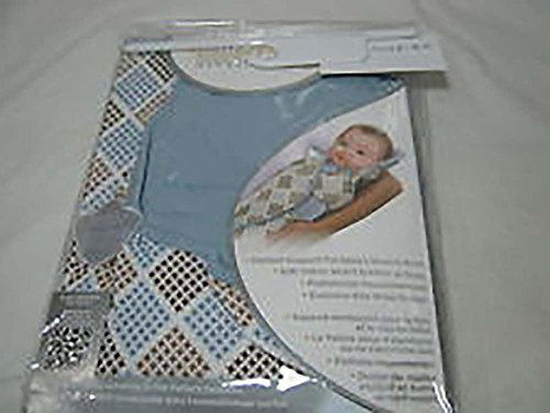 THE PERFECT SWADDLE Cocalo Small/Medium (blue/brown)