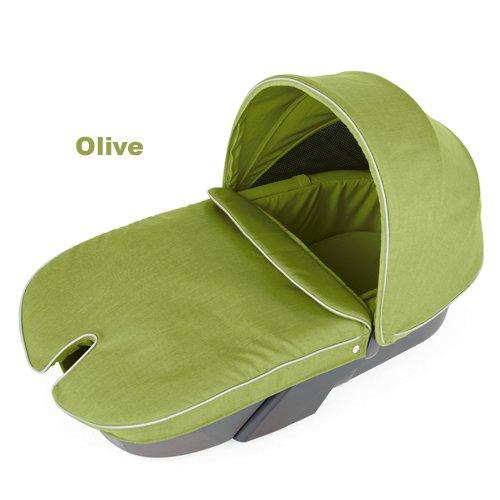 Olive Stokke Xplory Baby Stroller Carry Cot Textile Set front-979435