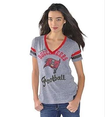 """Women's G-III NFL """"Bump & Run"""" Tri-blend V-neck T-shirt"""
