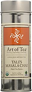 Tali's Masala Chai Organic Fair Trade Certified Loose Leaf Black Tea - 3oz Tin from Art of Tea