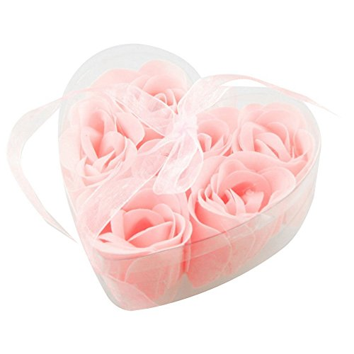 well-goal-6pcs-light-pink-fragrant-rose-bud-petal-soap-in-heart-shaped-box-by-well-goal