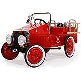 Baghera - 1938Fe - Plein Air - Voiture à Pédales - Camion De Pompier