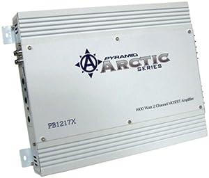 Pyramid PB1217X 1600-Watt 2-Channel Mosfet Arctic Series Amplifier from Sound Around