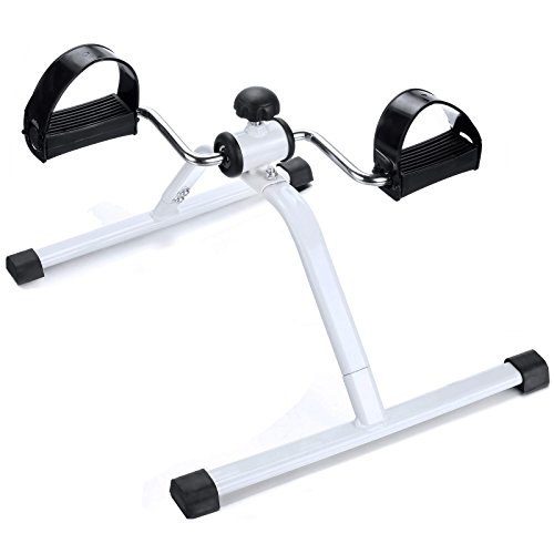 Ancheer Mini Exercise Bike Pedal Arm Leg Exerciser Cycle Peddler Trainer Bicycle
