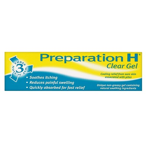 Preparation H Clear Gel 25g