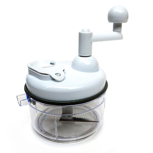 Hand Operated Food Processor Kitchen Plus Chopper Salsa Manual Vegetable