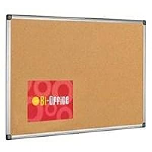 Bi-Office 1200 x 900mm Aluminium Framed Cork Board