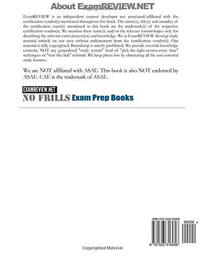 CAE Exam Self-Practice Review Questions for Certified Association Executive: 2014 Edition (with 100+ questions)