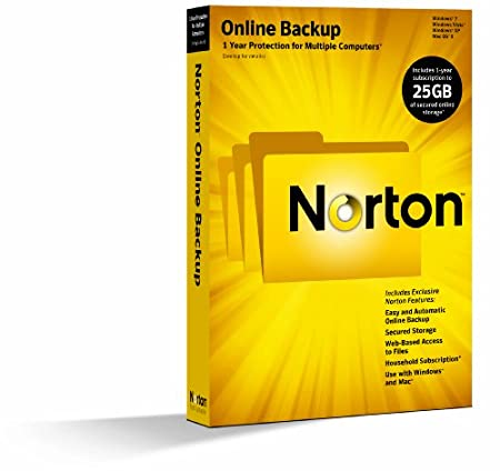 Norton Online Backup 2.0 - 1 User / 25GB