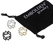 buy Gold Silver Black Hollow Star Midi Rings - Fashionable Jewelry Accessories For Women Girls And Teen Girls