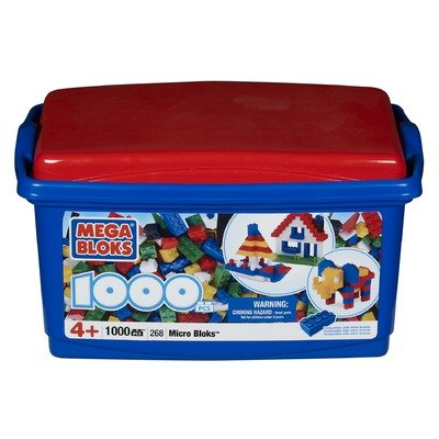 Mega Bloks Micro Bloks Tub (1000)