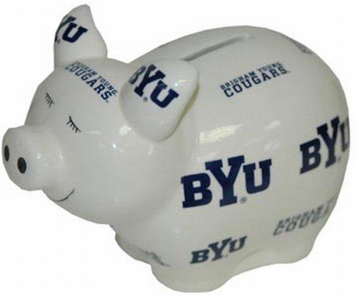 NCAA Brigham Young Cougars Bank Pig Lg - 1