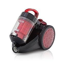 Eureka Forbes Tornado 1200-Watt Vacuum Cleaner (Black/Red)
