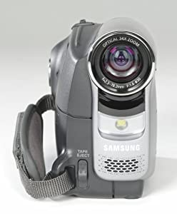 Samsung SC-D372 MiniDV Camcorder with 34x Optical Zoom