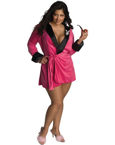 Rubies Costume Co Women's Playboy Sexy Girlfriend Plus Size Costume